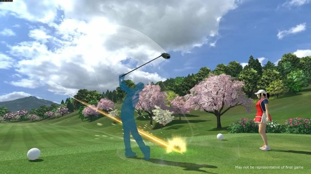 Everybody's Golf VR PS4 Exclusives 2019