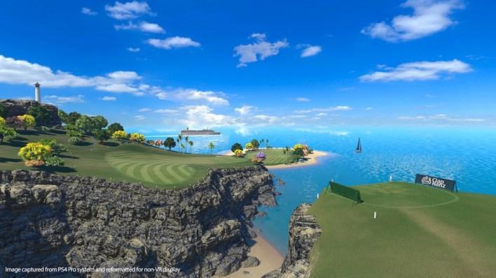 Tout le monde est Golf VR PSVR PS4 PlayStation 4 1