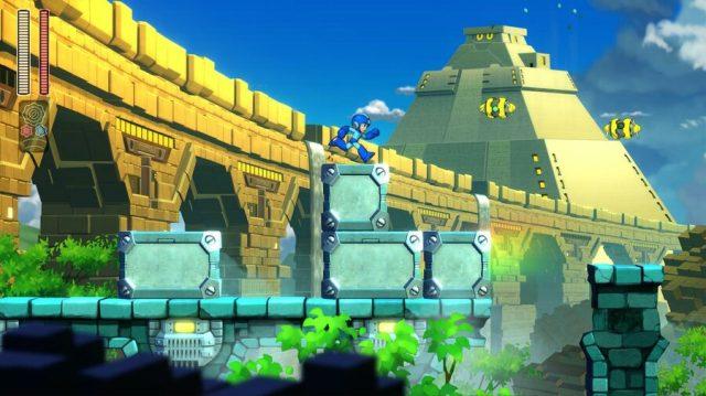 Mega Man 11 PS4 PlayStation 4 Hands On 2