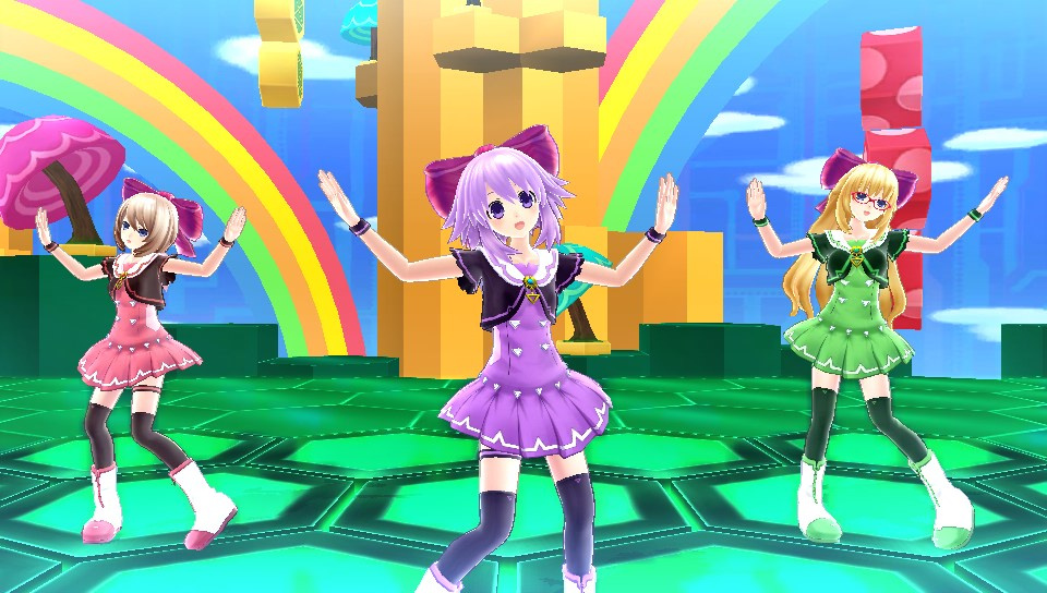 Image result for hyperdimension neptunia producing perfection