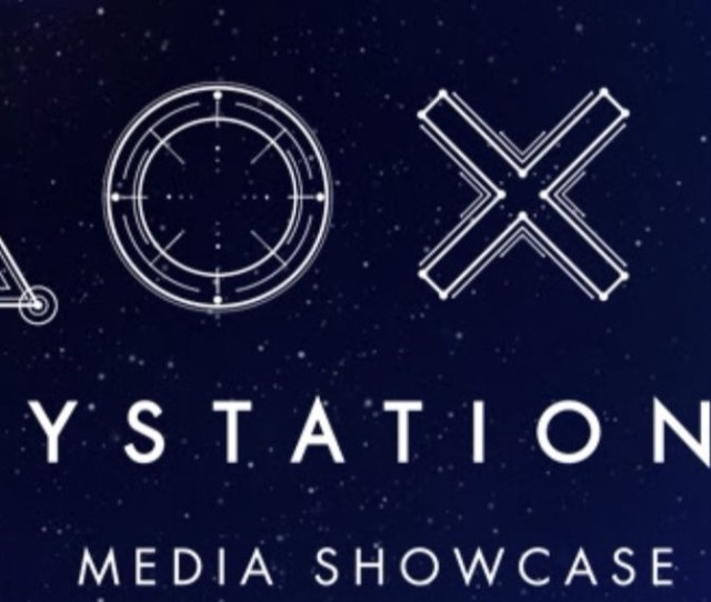 E3 2017 Sony Playstation Press Conference Time Date 2