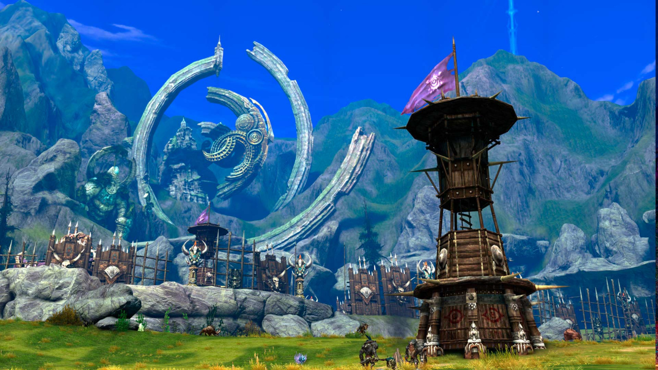 Free To Play Action MMORPG Tera Is Out Now On PS4 Push
