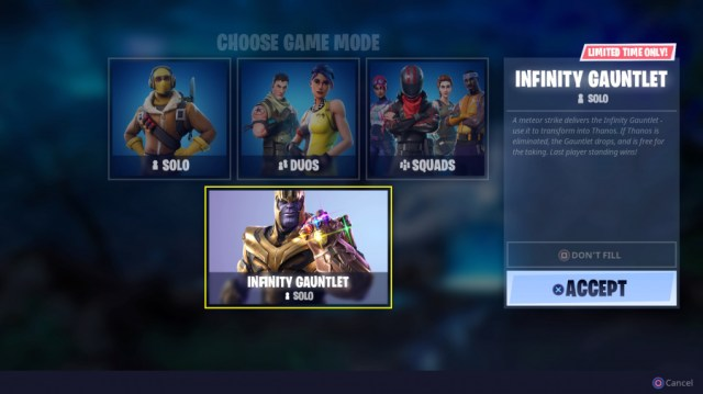 Fortnite - How the Thanos Infinity Gauntlet Event Works 3