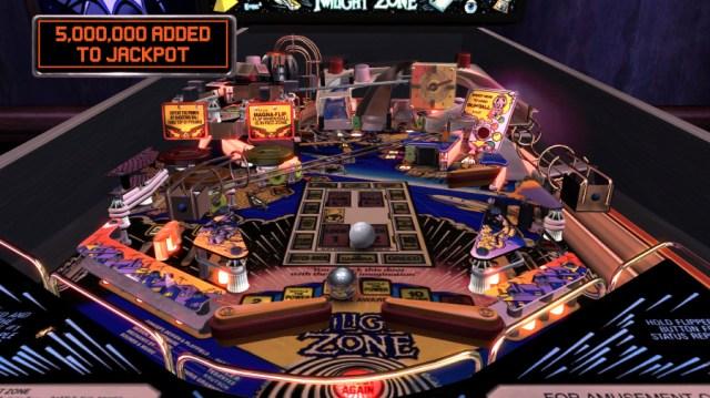 Twilight Zone The Pinball Arcade PS4 PlayStation 4 1