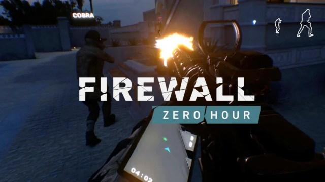 Firewall Zero Hour PS4 PlayStation 4 PSVR 1