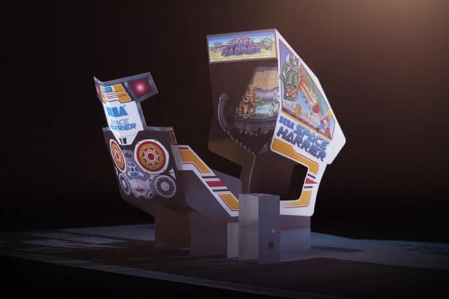 Space Harrier Arcade 1