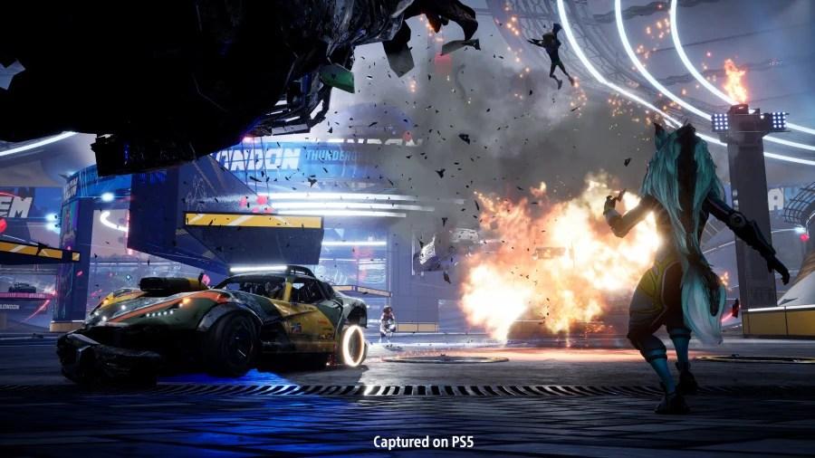 Revisión de Destruction AllStars - Captura de pantalla 1 de 4