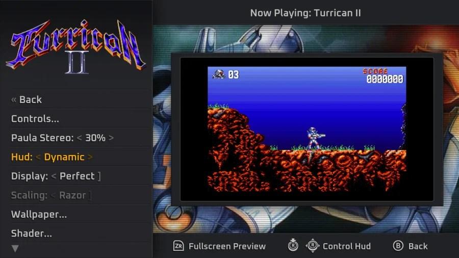 Revisión de Turrican Flashback - Captura de pantalla 1 de 6