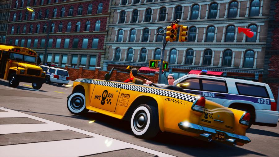 Taxi Chaos Review - Captura de pantalla 1 de 7