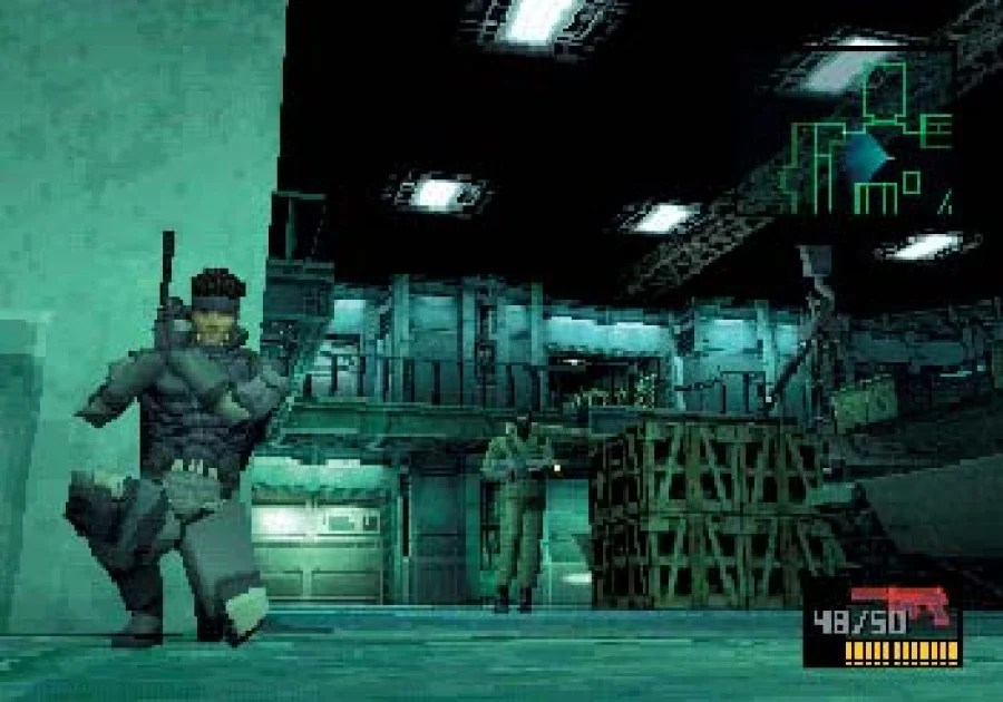 Image result for metal gear solid psone
