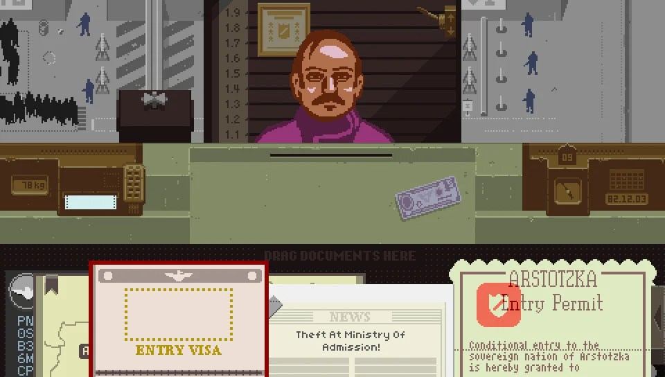 Image result for papers please vita