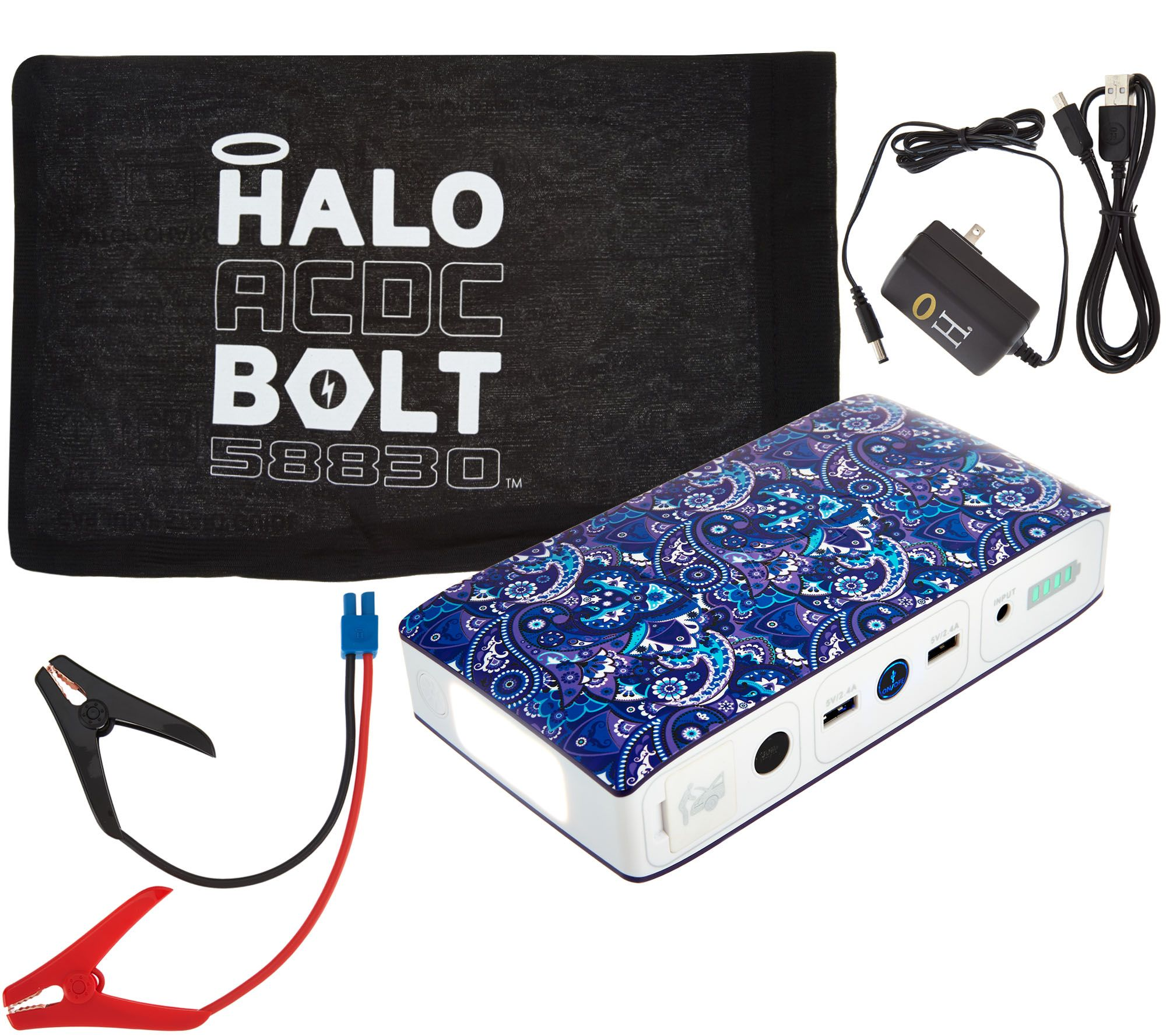 HALO Bolt ACDC 58830 MWh Portable Charge Car JumpStarter