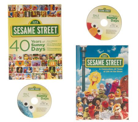Sesame Street 40 Years Of Sunny Days DVD Set With