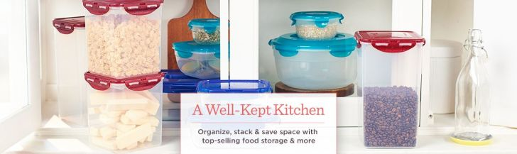 Well Kept Kitchen Organize Stack Save Space Top Selling Food