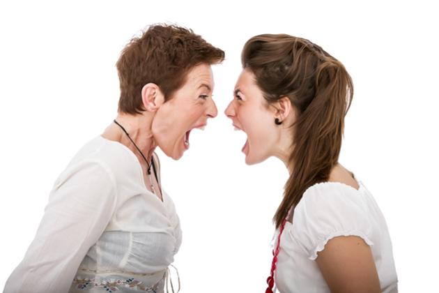Image result for loud arguing