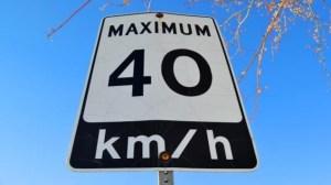 La limite de vitesse bientôt abaissée à 40km/h dans un quartier de Rimouski