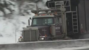 Le Dakota du Nord songe à vacciner les camionneurs saskatchewanais