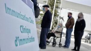 La vaccination étendue aux 70 ans et plus lundi à Ottawa