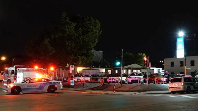 Incendie d'origine suspecte dans Rosemont