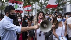Hommage aux victimes de Beyrouth à Montréal