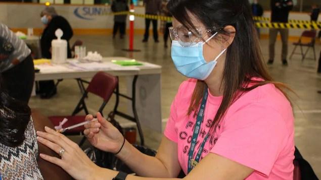 Un appel à la vaccination dans la région de Porcupine