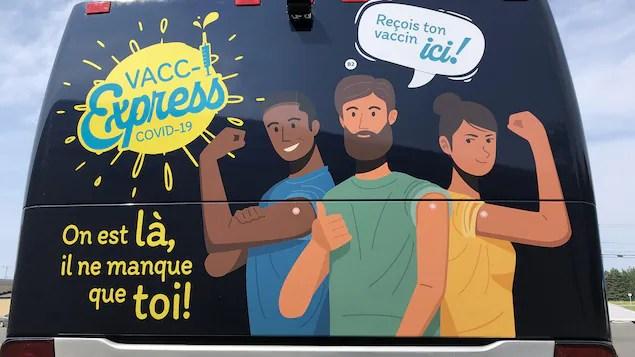 Succès pour la première semaine du Vacc-I-Express