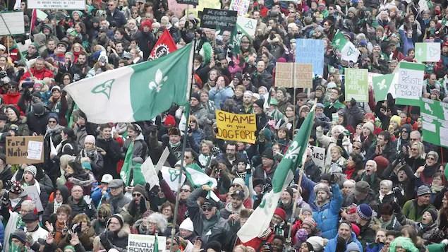 Les prochaines étapes de la «résistance» franco-ontarienne | L'Ontario et les services en français