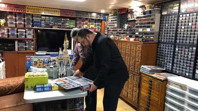 plus de 300 000 en lego dans son sous sol