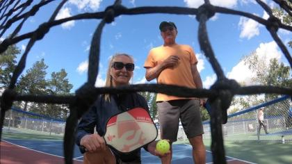 Pickleball features an increasing number of followers in Canada