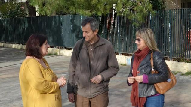 Dimitri Pagnatopoulos et ses collègues