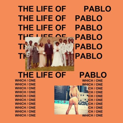 Image result for life of pablo album cover