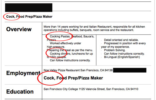 17 Hilariously Horrible Resumes For The 39 Do Not Hire Pile Realclear
