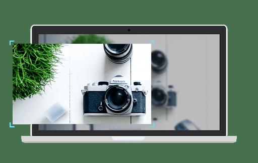 Screenshot of a camera