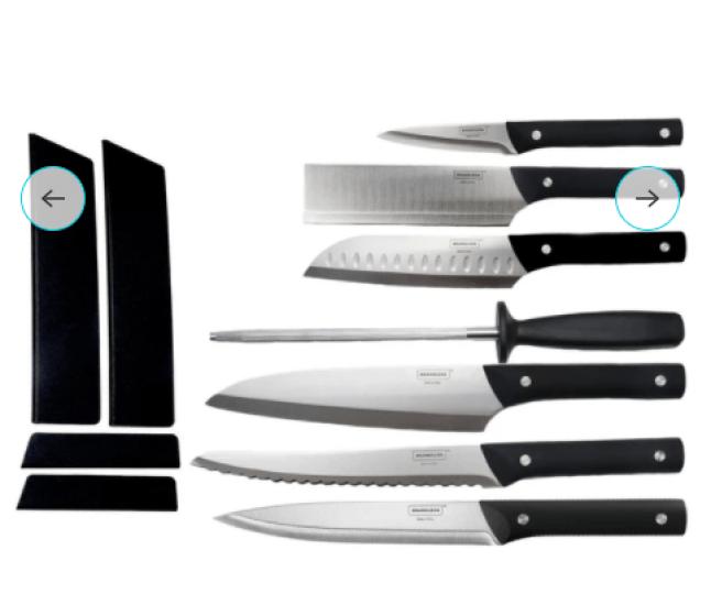 Brandless knives