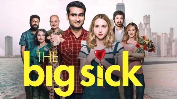 The Big Sick, Movie on DVD, Comedy Movies, Romance