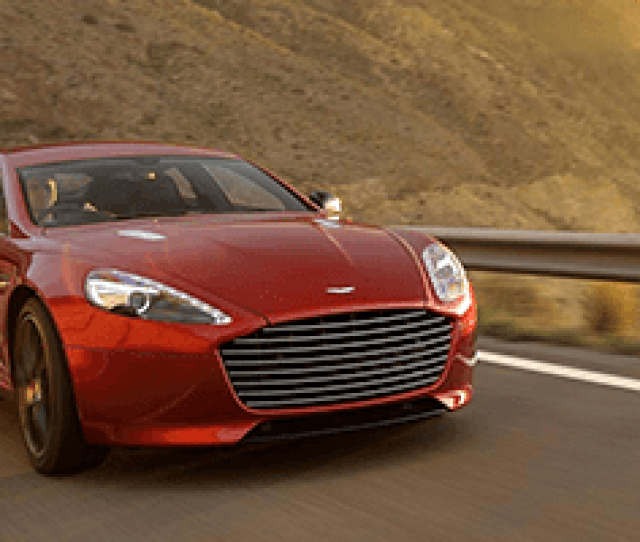 Aston Martin Rapide S As The Worlds Most
