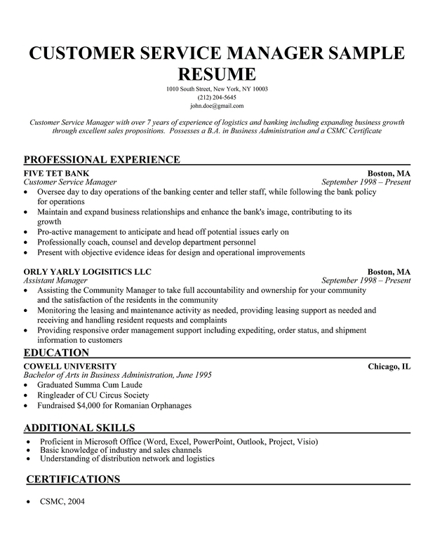 customer care officer resume - 28 images - resumes customer service ...