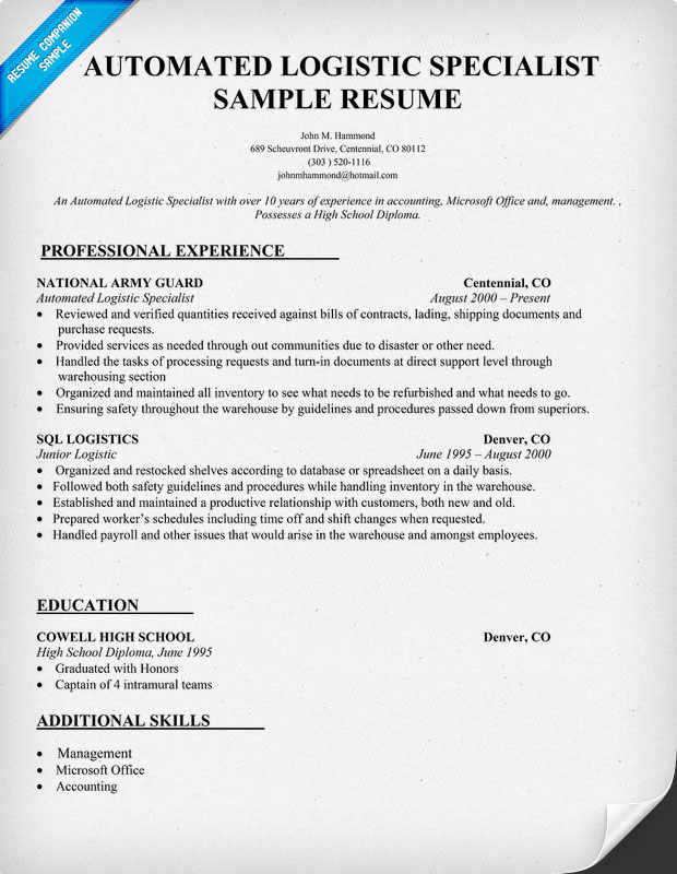 Aviation Mechanic Resume Sample. Resume Templates As Well As