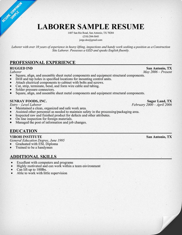 example civil engineering cv social worker