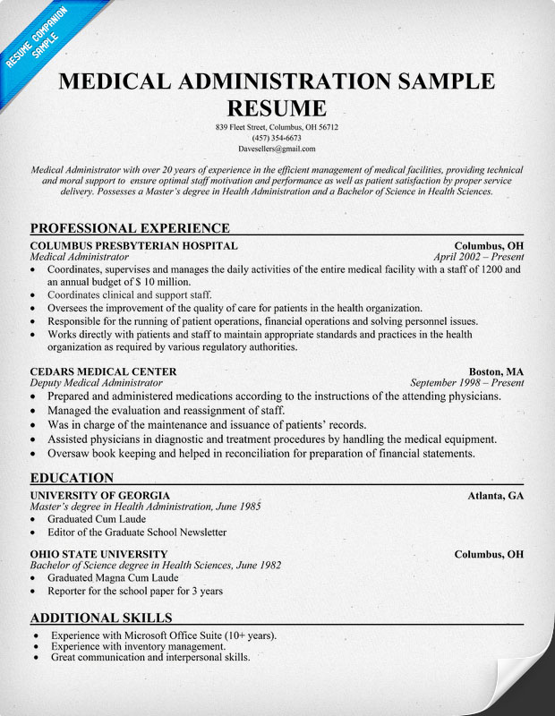 medical secretary resume medical secretary resume examples