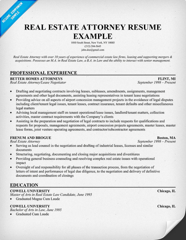sample attorney 1jpg litigation attorney resume sample success lawyer