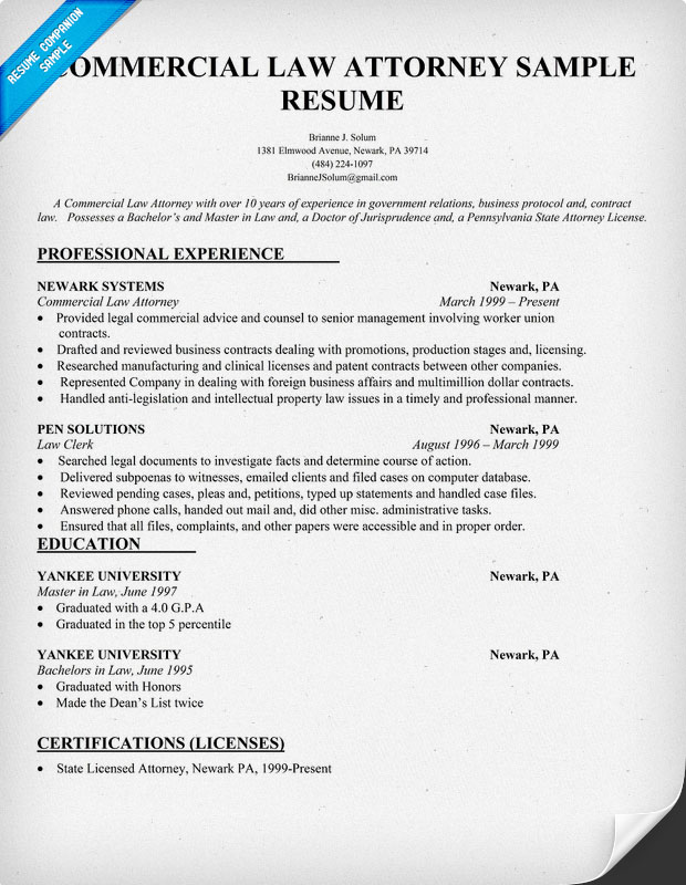 best lawyer resume format 6 things attorneys and law students