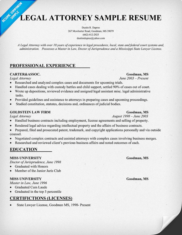 resume samples legal counsel lawyer resume legal resume sample lawyer