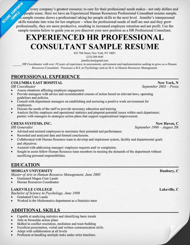 it resume samples for experienced professionals free resume template