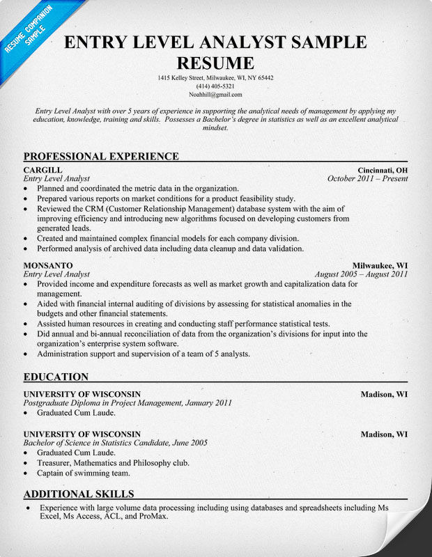 senior business analyst resume resumecompanioncom how to write a