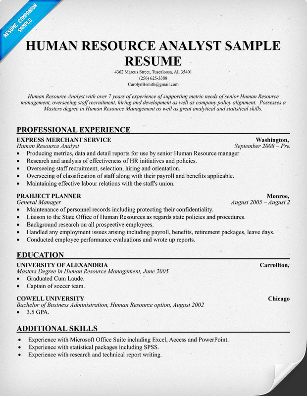 Hr Resume Examples India. Hr Resumes Template Sample Hr Resumes
