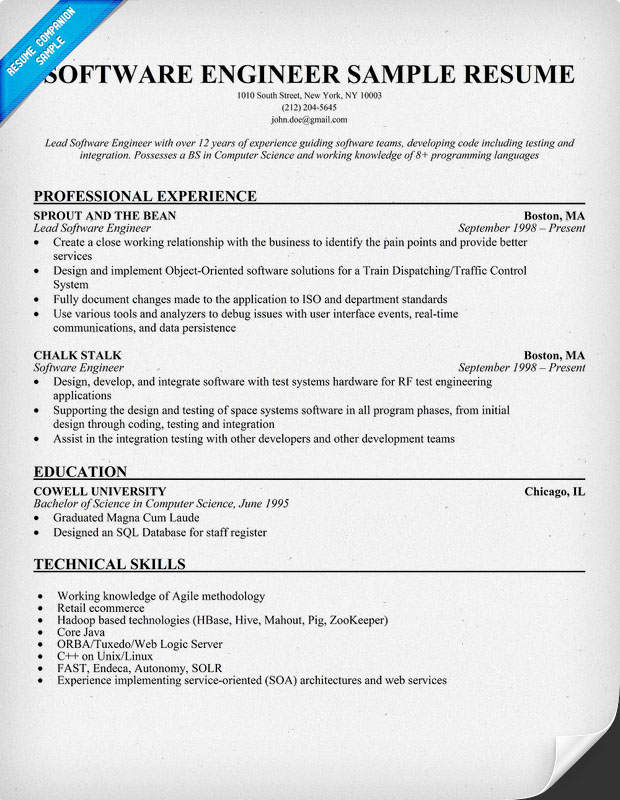 Resume It Examples  Resume Examples And Free Resume Builder