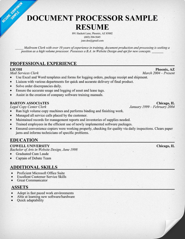 Examples Of Resumes Entry Level Occupational Therapy