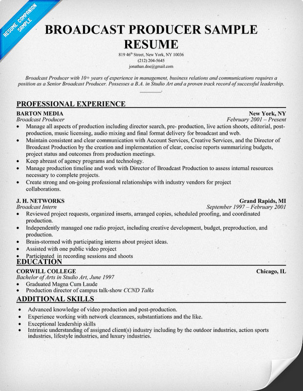 production assistant resume sample music producer resume sample music production job description