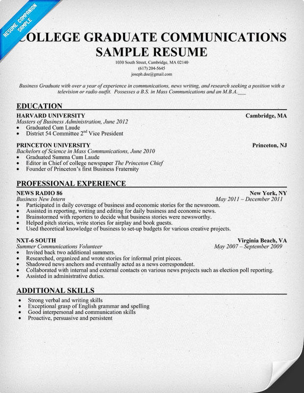 Resume Sample College Student. Research Proposal Template